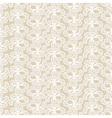 Seamless beige and white lacy pattern vector