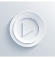 Modern play light circle icon vector