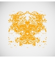 Abstract of chaotic points eps vector