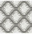 White roses seamless pattern vector