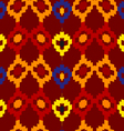 Tribal seamless of rhombuses vector