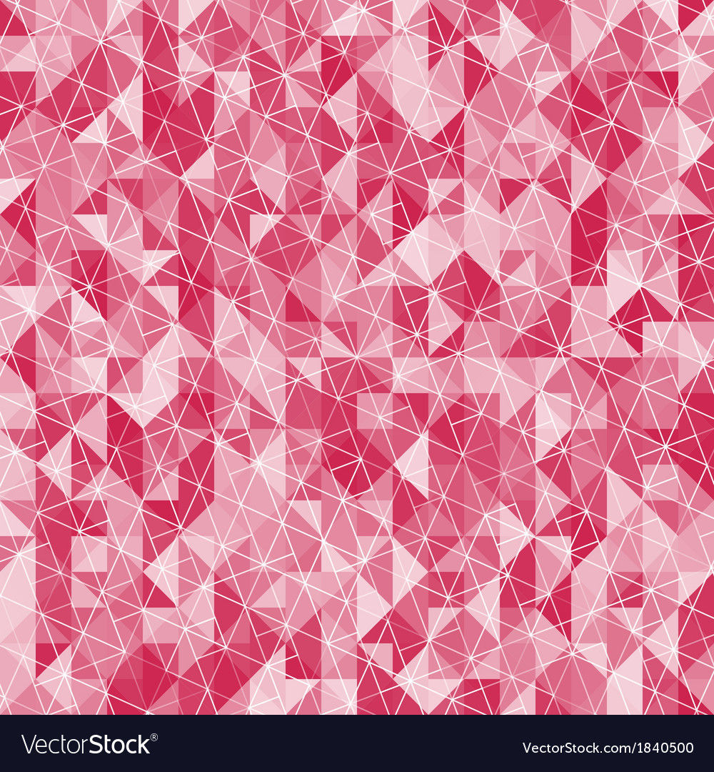 Abstract crystal red triangle background vector | Price: 1 Credit (USD $1)