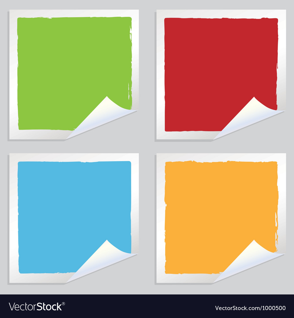 Square stickers vector | Price: 1 Credit (USD $1)