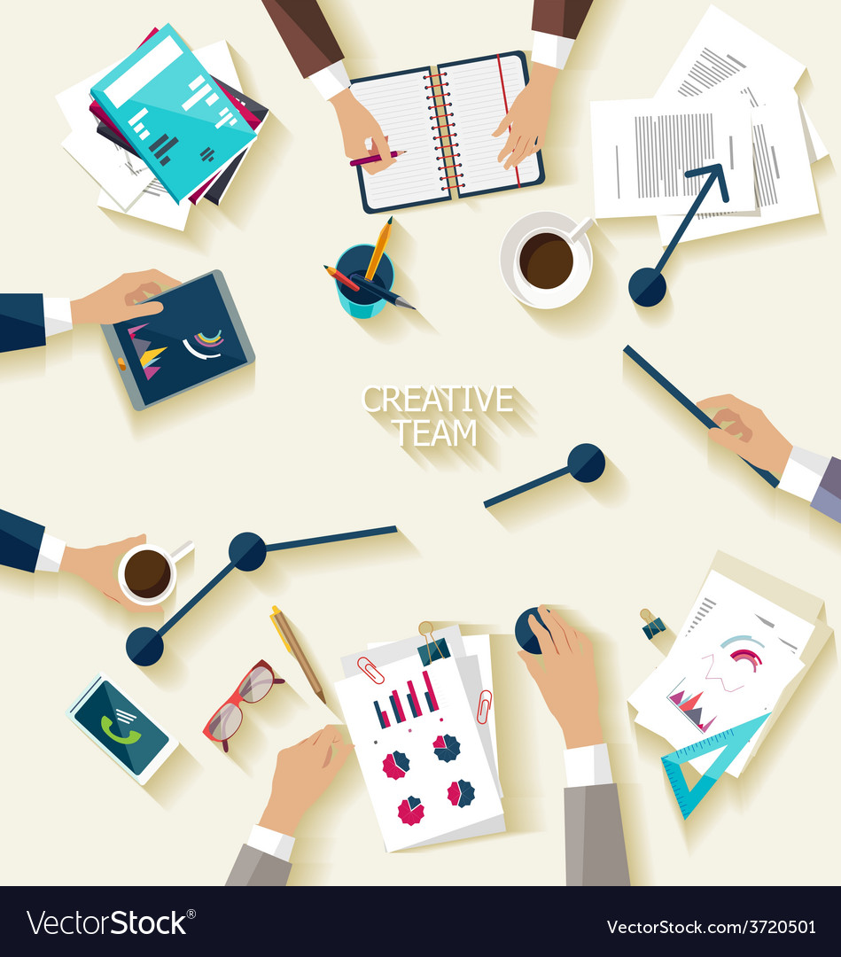 Business meeting and brainstorming vector   Price: 1 Credit (USD $1)