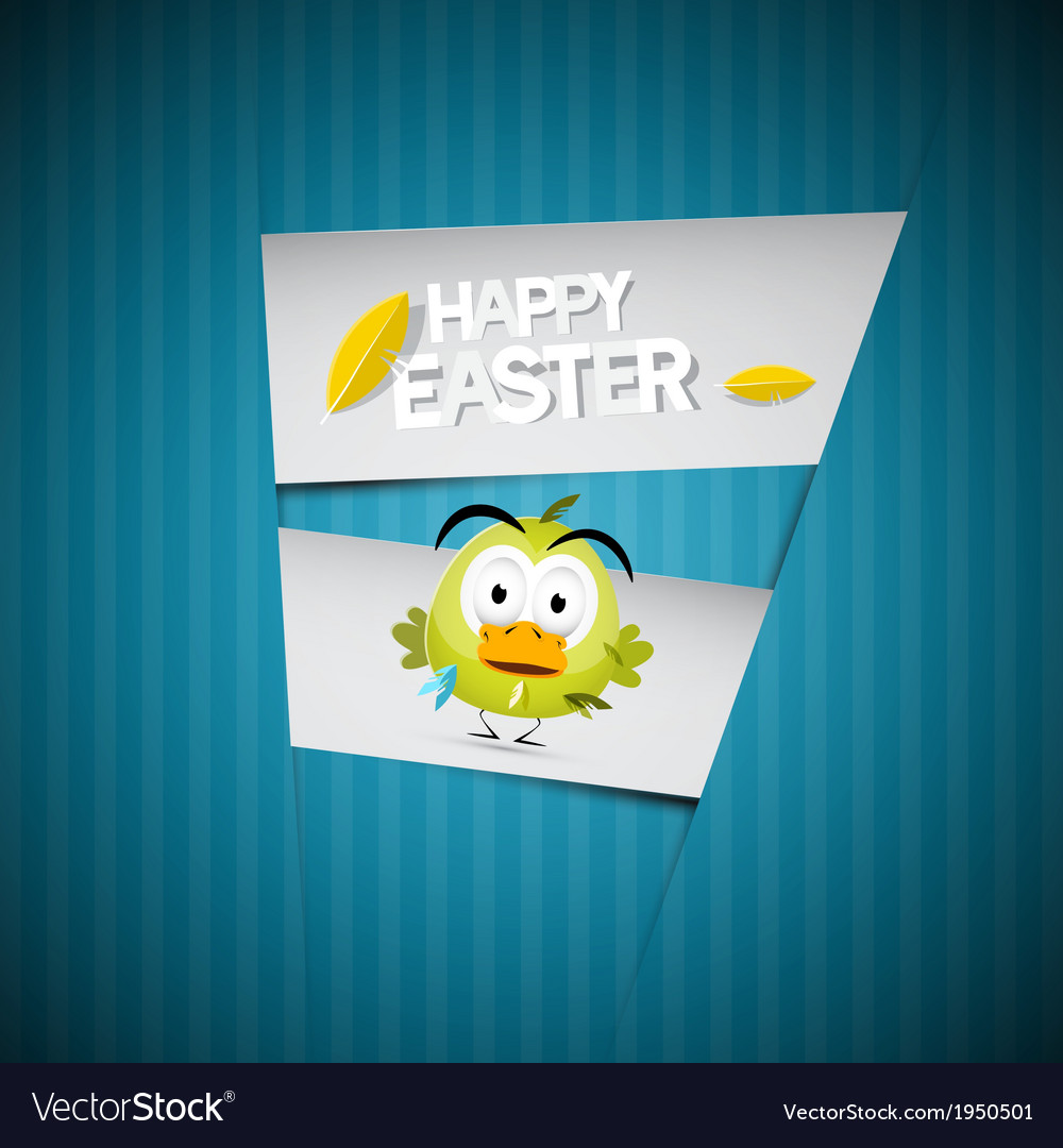 Easter retro blue paper cardboard background with vector | Price: 1 Credit (USD $1)