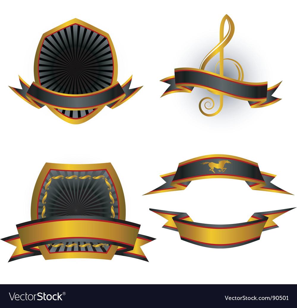 Emblems vector | Price: 1 Credit (USD $1)