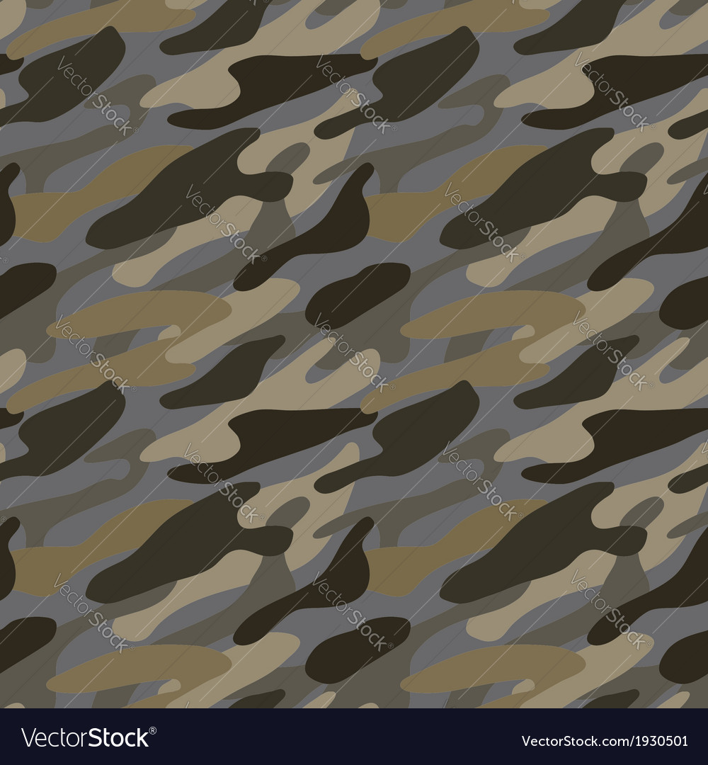 Seamless khaki pattern vector | Price: 1 Credit (USD $1)