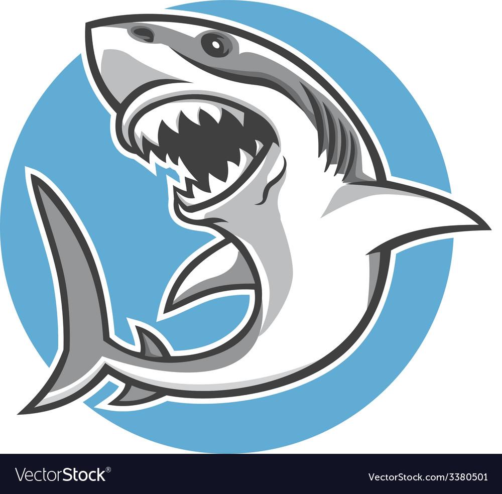 Shark mascot vector | Price: 3 Credit (USD $3)