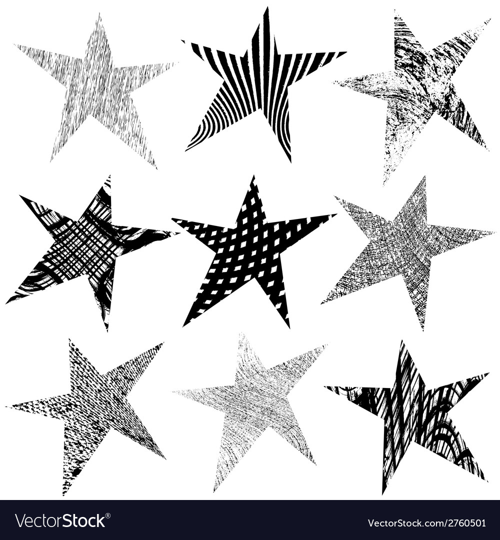 Star original set vector | Price: 1 Credit (USD $1)