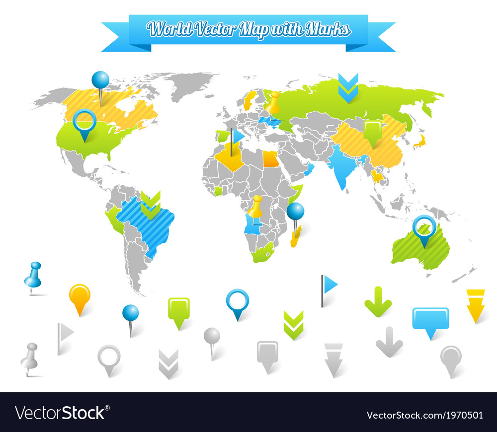 World vector | Price: 1 Credit (USD $1)