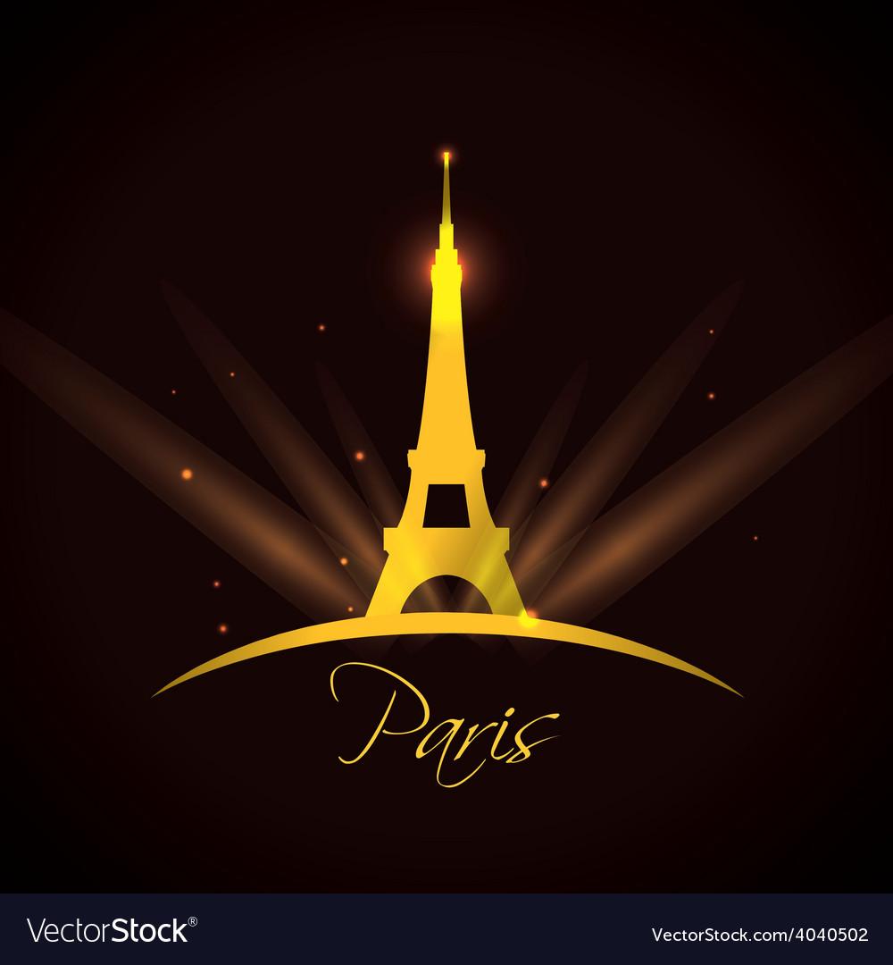 Paris design vector | Price: 1 Credit (USD $1)