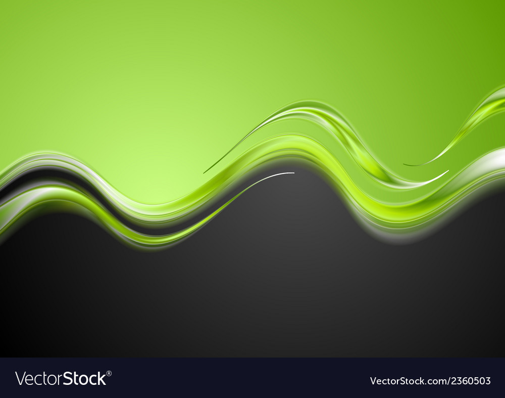 Bright contrast waves design vector | Price: 1 Credit (USD $1)