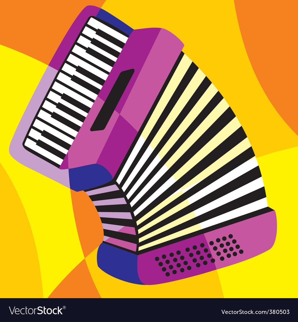 Harmonica vector | Price: 1 Credit (USD $1)