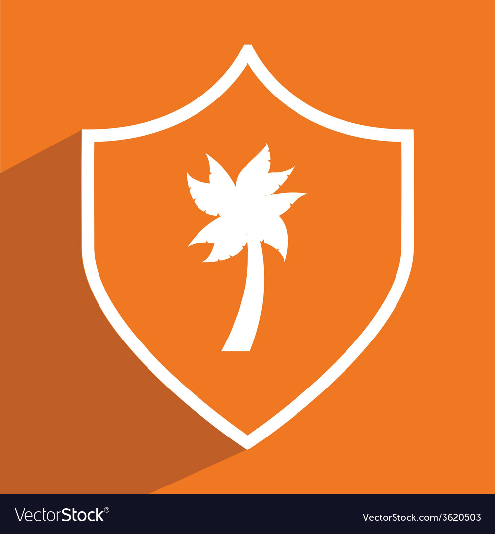 Tree palm design vector | Price: 1 Credit (USD $1)