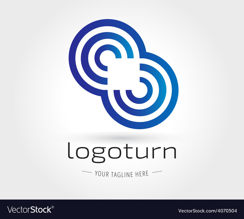 Abstract logo template for branding and vector | Price: 1 Credit (USD $1)
