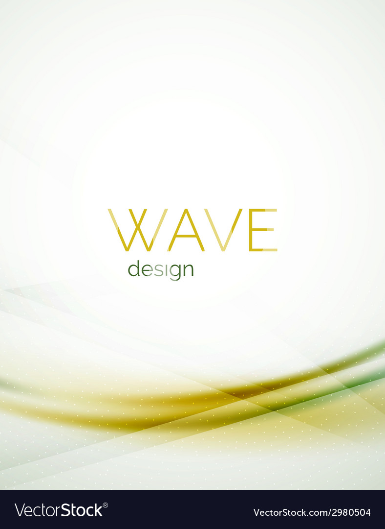 Flowing wave of blending colors vector | Price: 1 Credit (USD $1)