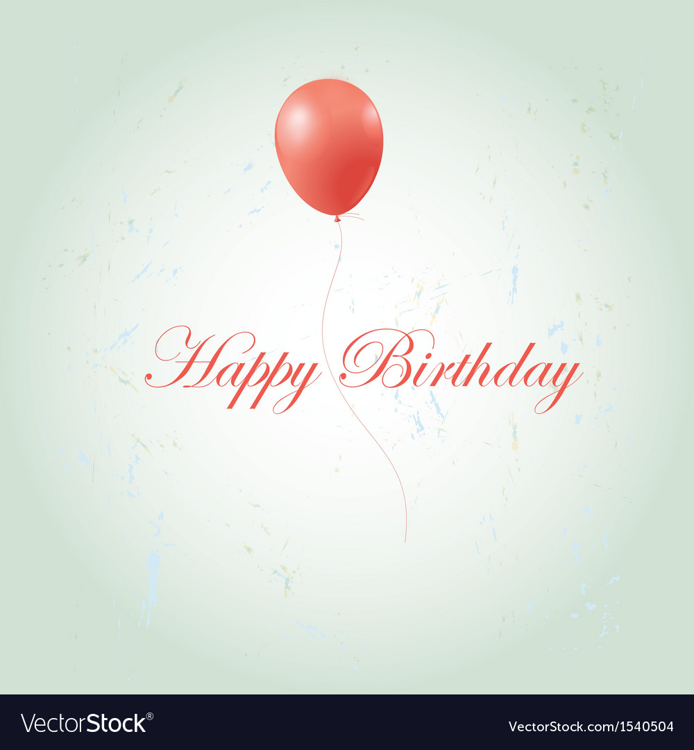 Greeting card with a birthday vector | Price: 1 Credit (USD $1)