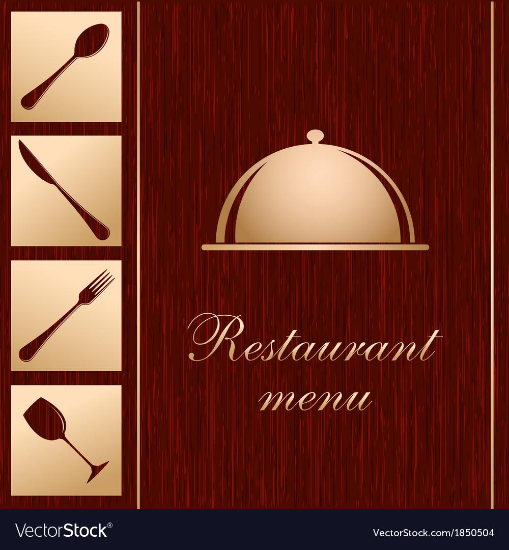 Template of a restaurant menu vector | Price: 1 Credit (USD $1)