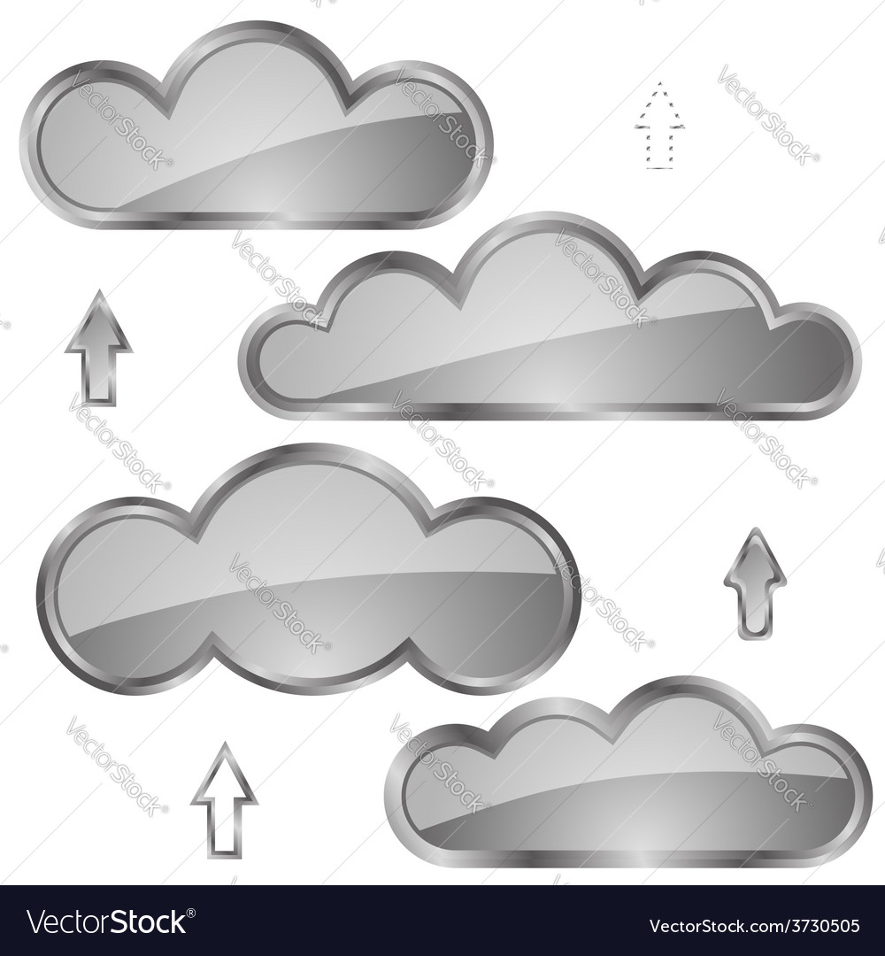 Clouds vector | Price: 1 Credit (USD $1)