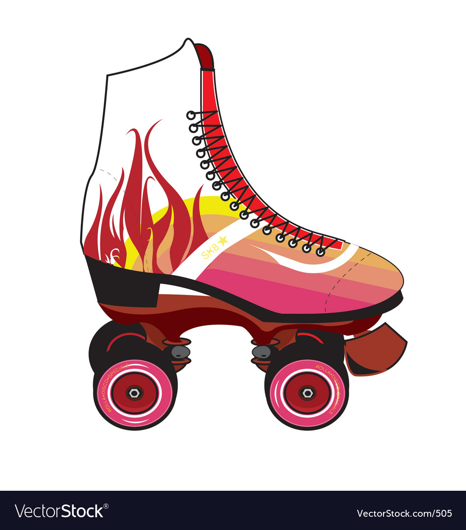 Roller-skate vector | Price: 1 Credit (USD $1)