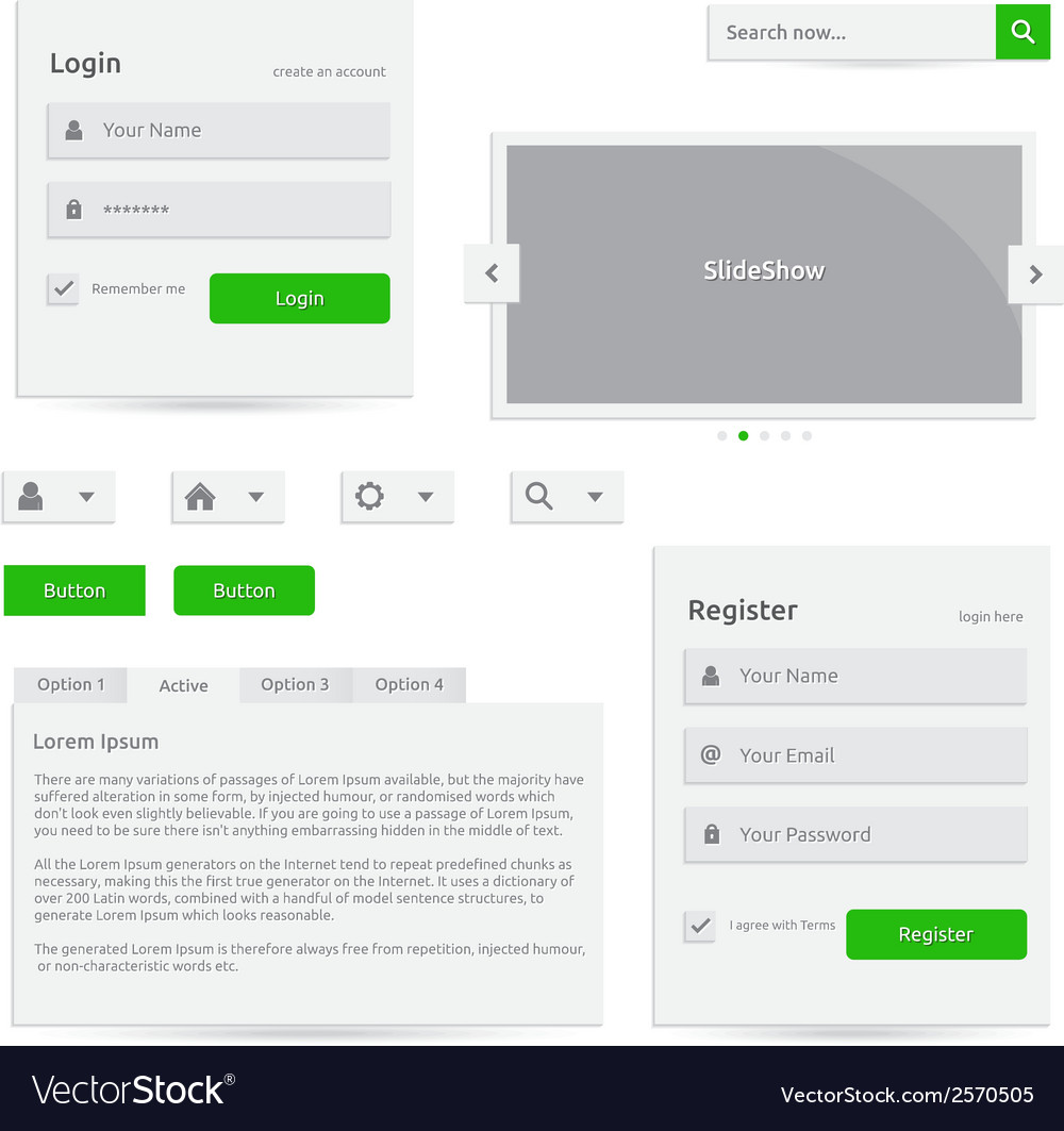 Web template vector | Price: 1 Credit (USD $1)