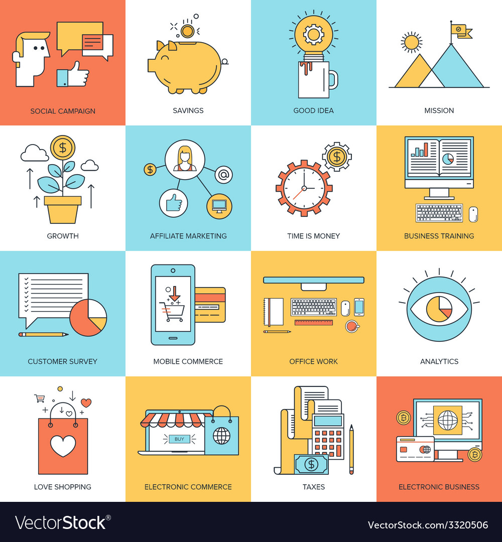 Business concepts vector | Price: 1 Credit (USD $1)
