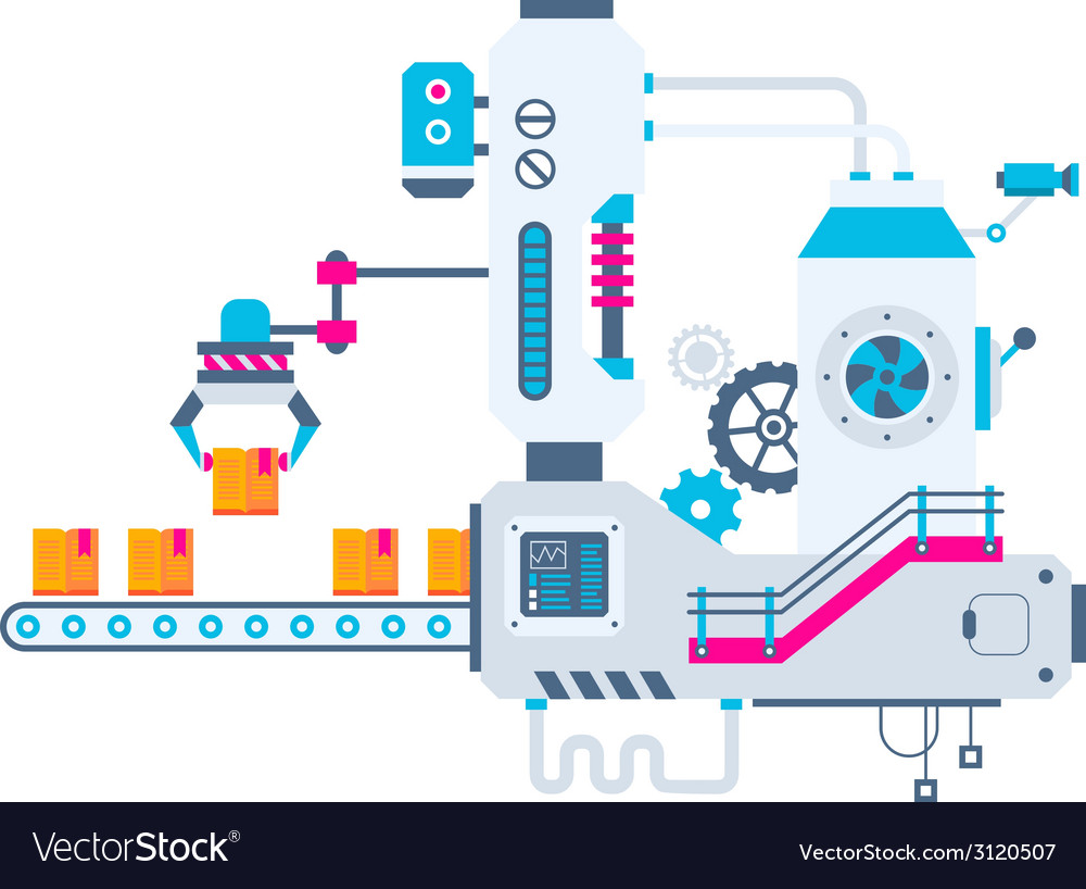 Industrial background of the factory for sor vector | Price: 1 Credit (USD $1)