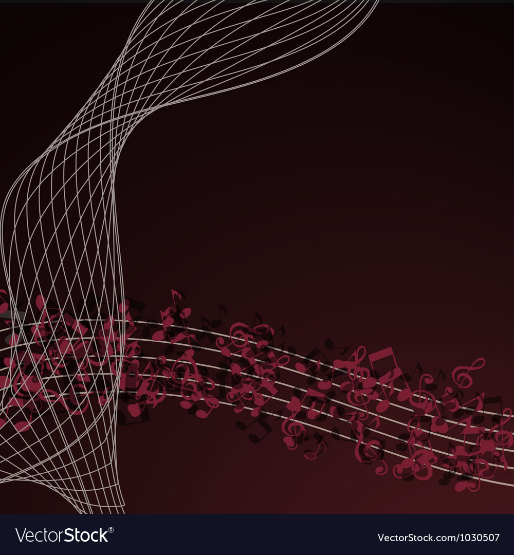 Notes abstract gold music background vector | Price: 1 Credit (USD $1)