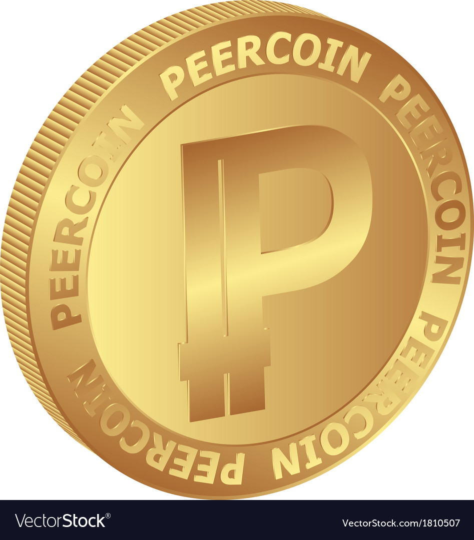 Peercoin vector | Price: 1 Credit (USD $1)