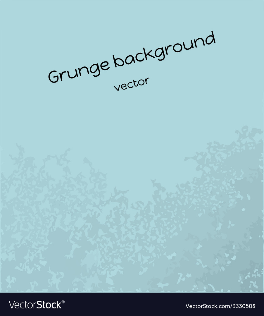 Blue grunge background vector | Price: 1 Credit (USD $1)