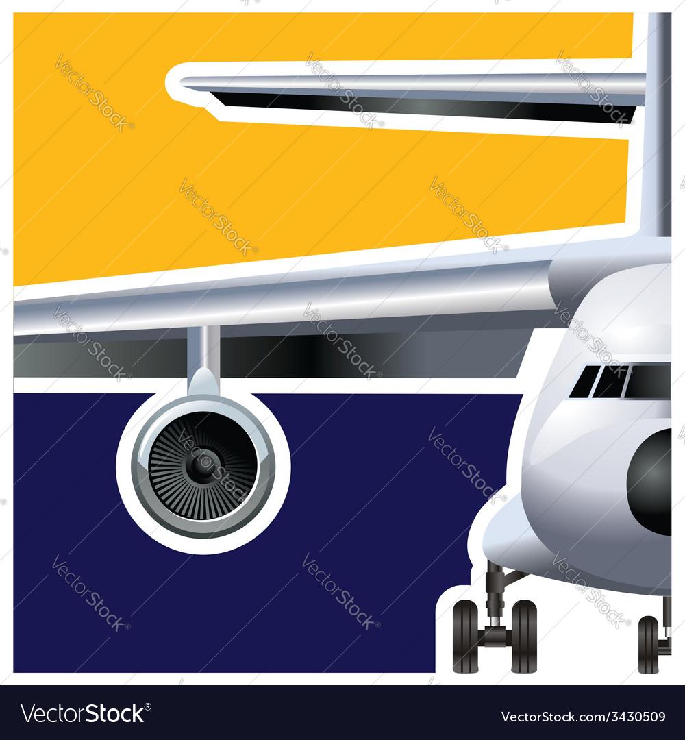 Cargo air vector | Price: 1 Credit (USD $1)