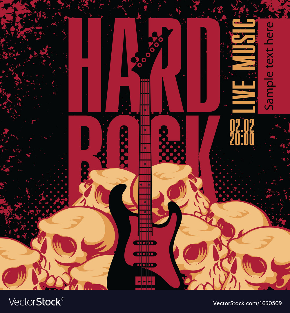 Hard rock vector | Price: 1 Credit (USD $1)