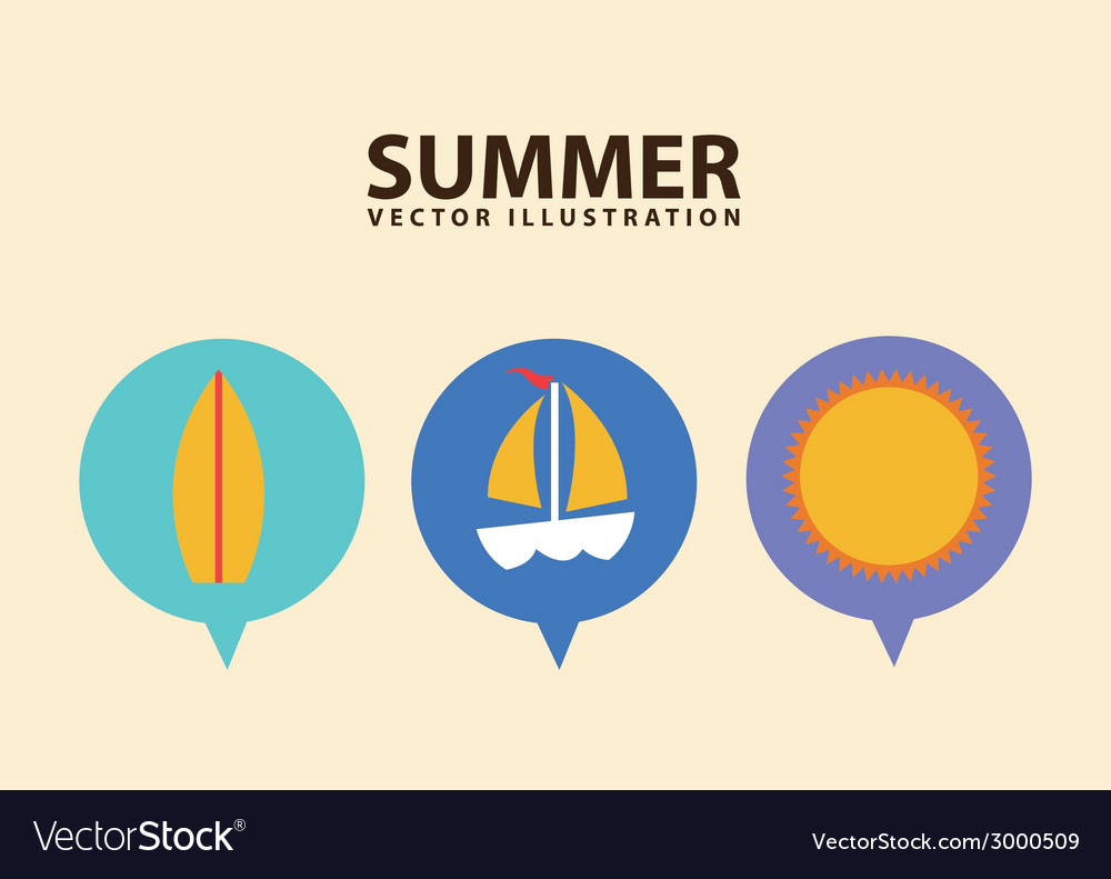 Summer design vector   Price: 1 Credit (USD $1)