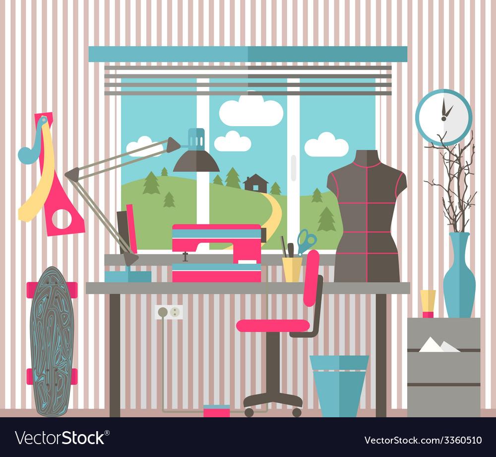 House female hobbies vector   Price: 1 Credit (USD $1)