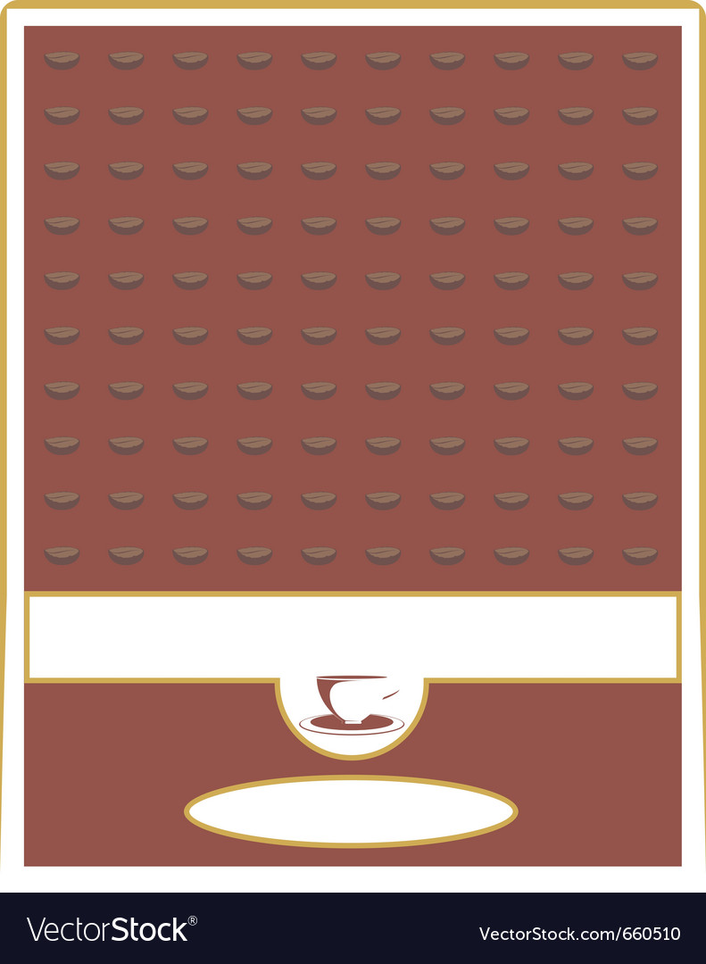 Label for coffee vector   Price: 1 Credit (USD $1)