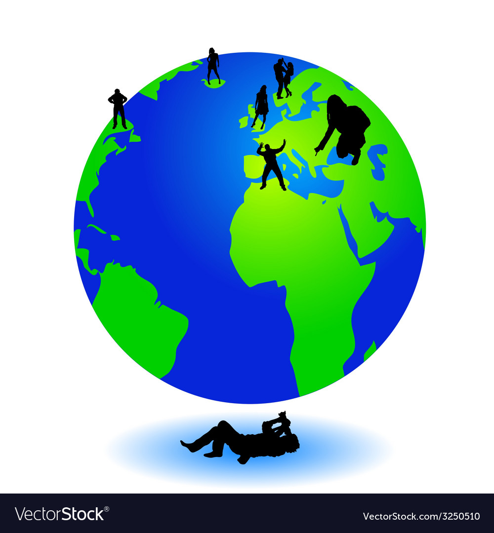 Photographer picture the world with people on it vector   Price: 1 Credit (USD $1)