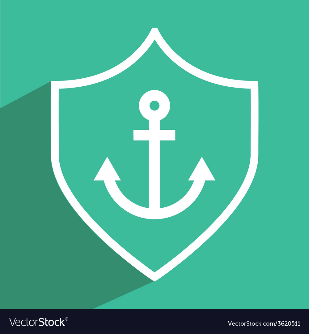 Anchor icon design vector | Price: 1 Credit (USD $1)