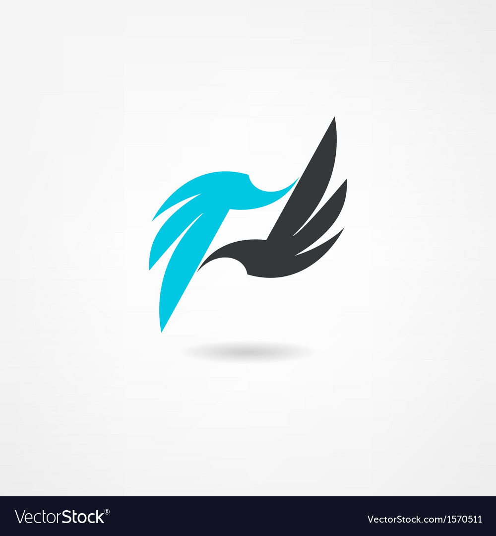 Bird icon vector | Price: 1 Credit (USD $1)