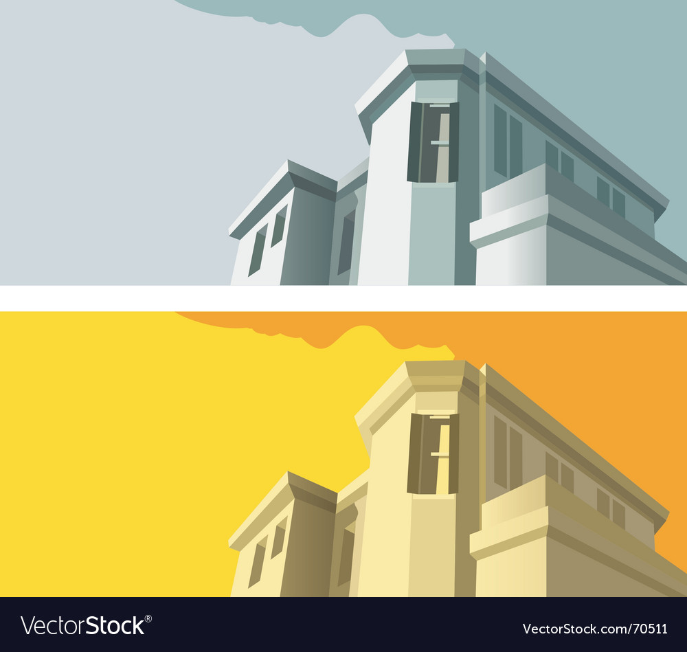 Old-fashioned building vector | Price: 1 Credit (USD $1)