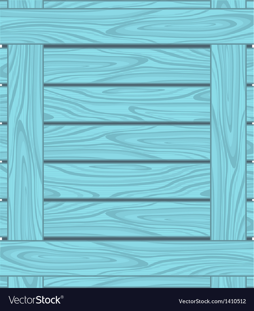 Background of blue boards with wood grain vector | Price: 1 Credit (USD $1)