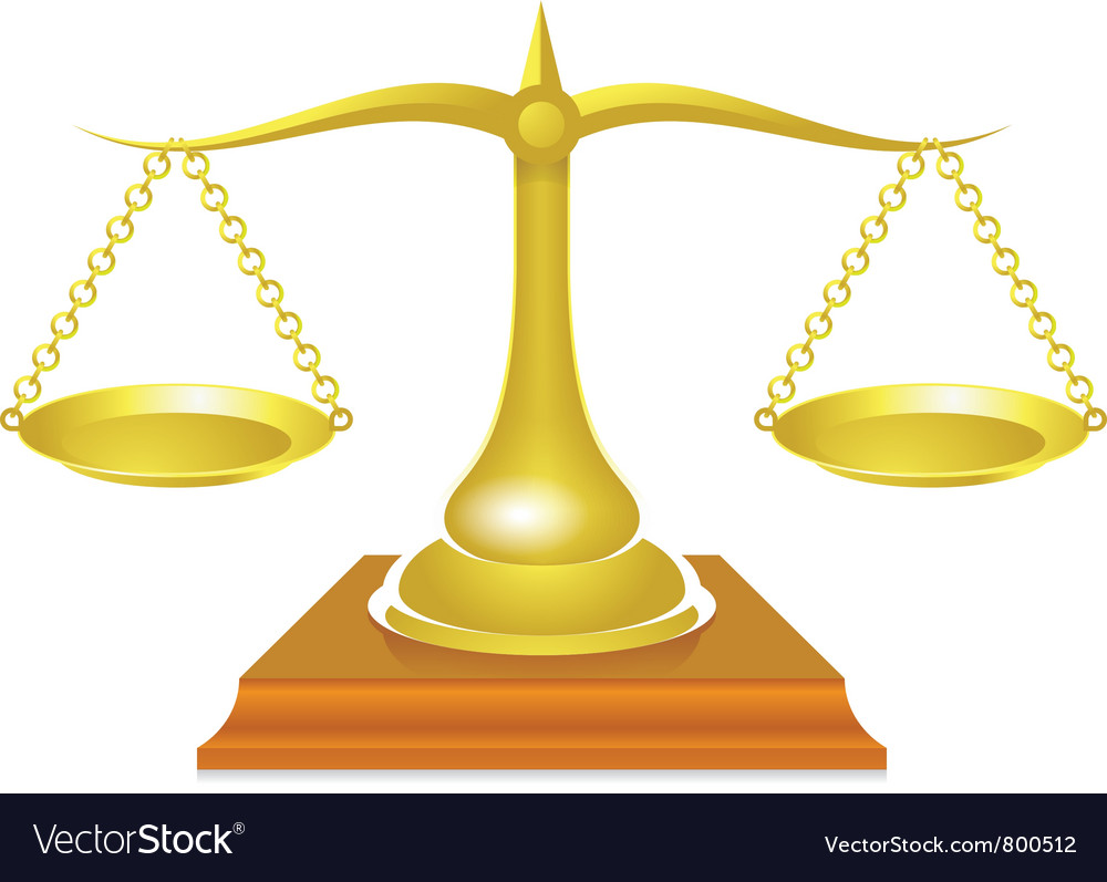 Historical scales vector | Price: 1 Credit (USD $1)