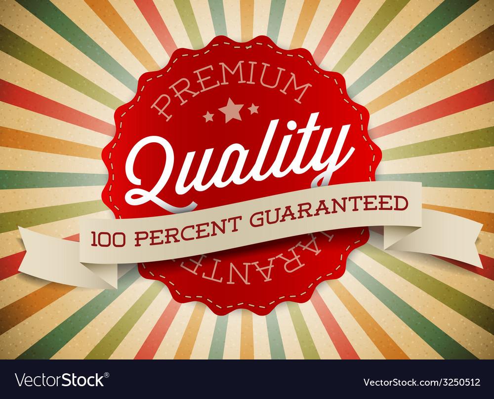 Old round retro vintage label vector | Price: 1 Credit (USD $1)