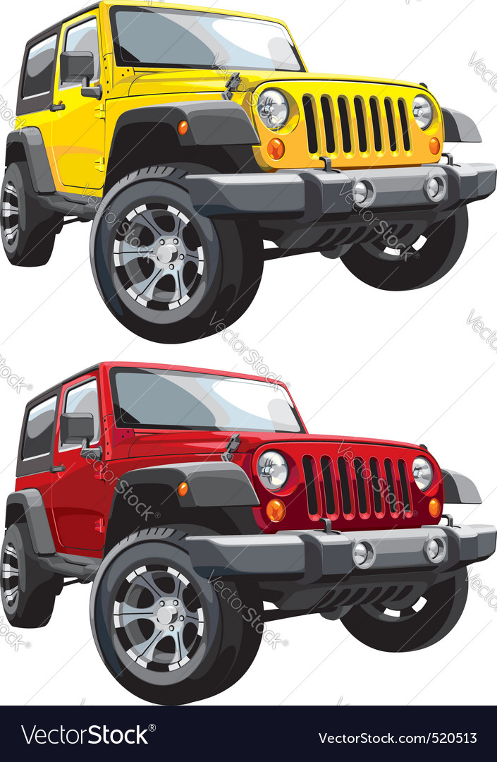 Offroad jeep vector | Price: 5 Credit (USD $5)