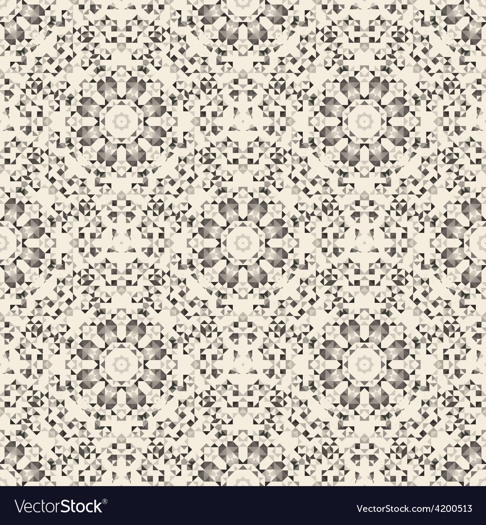 Ornamental seamless pattern abstract background vector | Price: 1 Credit (USD $1)