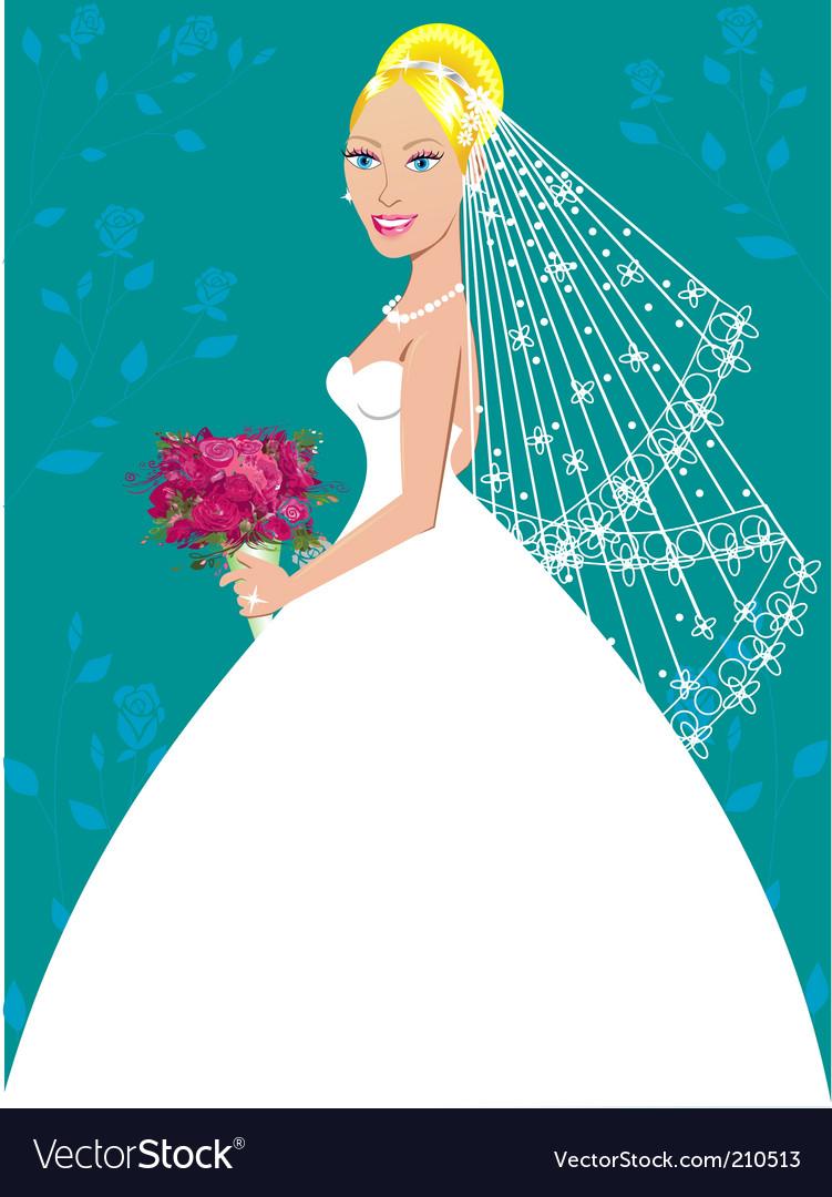 Wedding gown vector | Price: 3 Credit (USD $3)