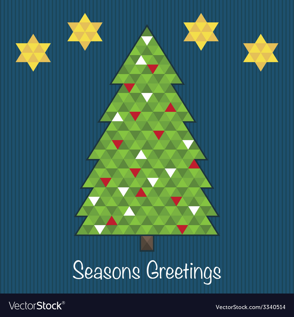 Christmas tree decoration vector | Price: 1 Credit (USD $1)