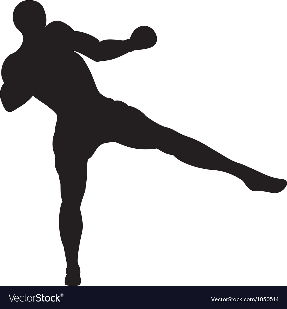 Low thai kick vector | Price: 1 Credit (USD $1)