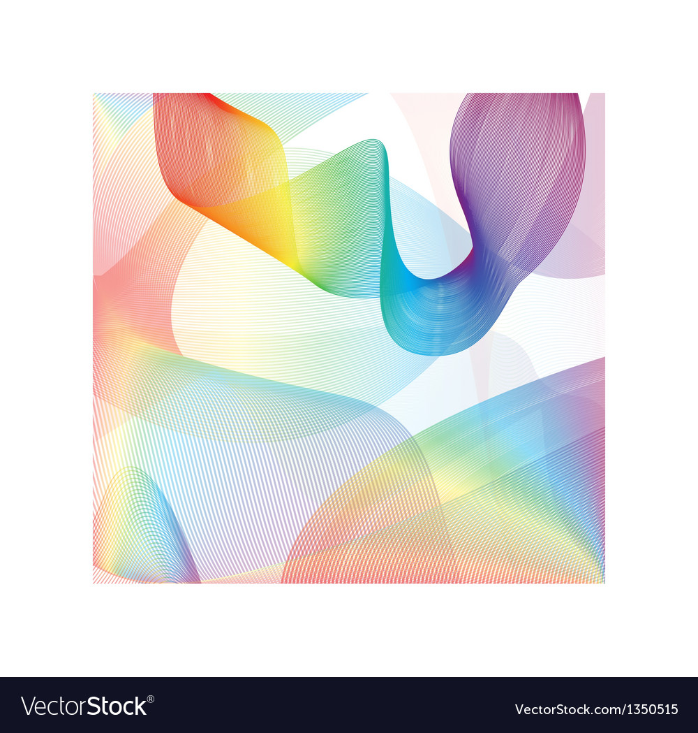 Colorful smoke on the white background vector | Price: 1 Credit (USD $1)