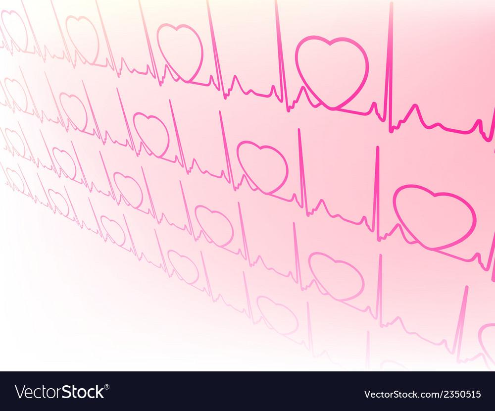 Electrocardiogram waveform from ekg test eps 8 vector   Price: 1 Credit (USD $1)
