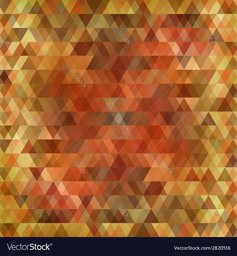 Abstract triangles background vector | Price: 1 Credit (USD $1)
